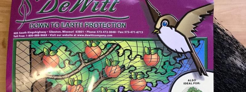 Filet anti-oiseaux 7 pi x 20 pi