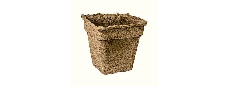 CowPots – pots à planter carrés 4 po – 30 unités