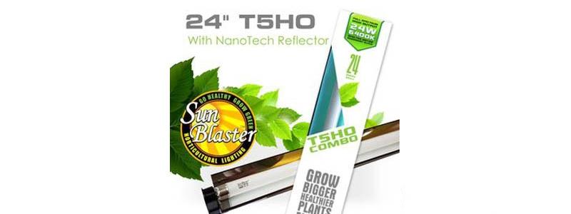 Ensemble d'éclairage COMBO Sunblaster 6400K T5HO - 24''