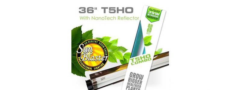 Ensemble d'éclairage COMBO Sunblaster 6400K T5HO - 36''