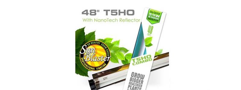 Ensemble d'éclairage COMBO Sunblaster 6400K T5HO - 48''