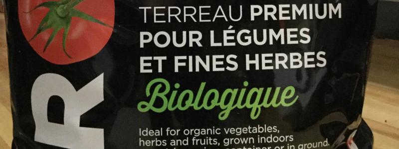 Terreau - mélange biologique herbes & légumes - PRO-MIX - 9 l