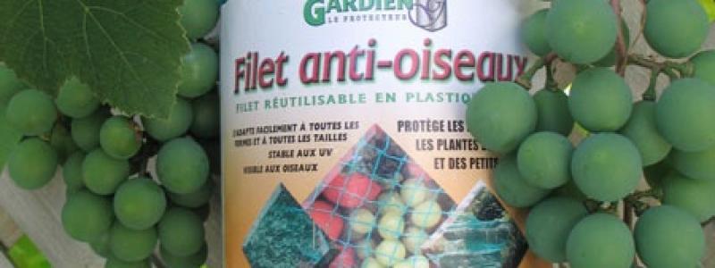 Filet anti-oiseaux 15 pi x 50 pi