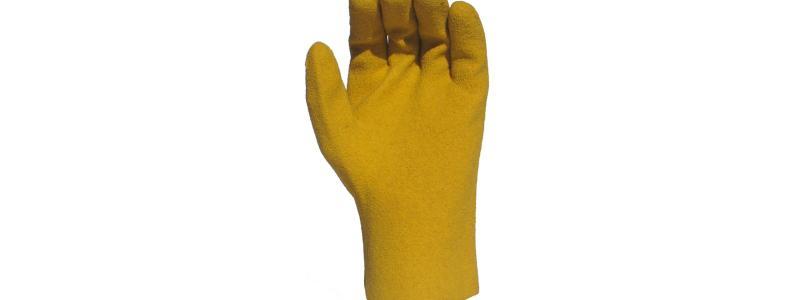 Gants de jardinage PVC-Coton grandeur 09-M
