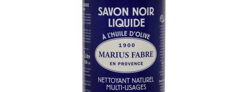 Savon noir liquide en bouteille – 1 l